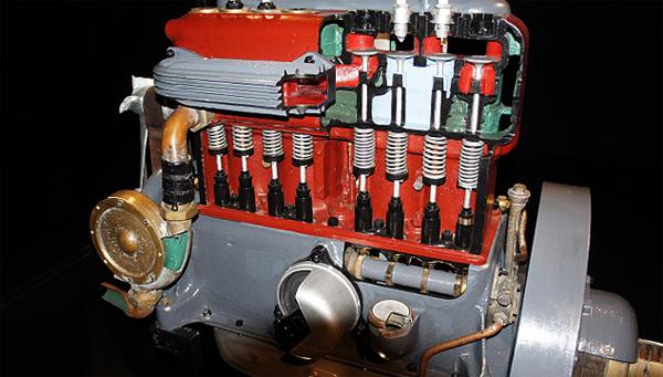 Двигатель нижнеклапанный