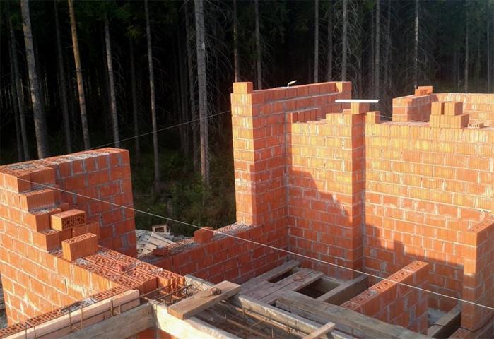 Строительство кирпичной бани