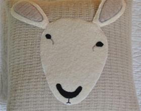 Подушки из овечьей шерсти