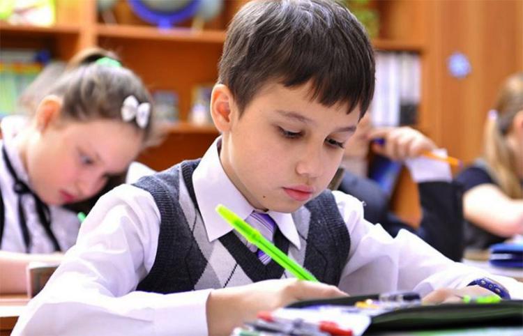 Ученики делают задания