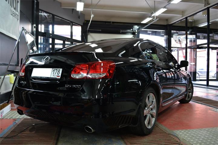 Обработка автомобиля жидким стеклом