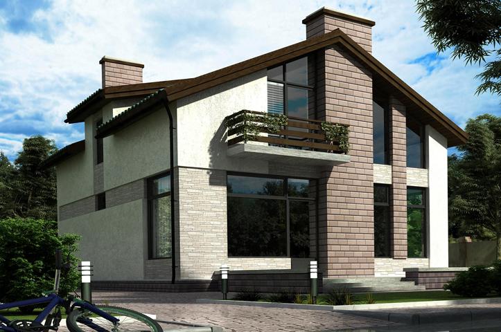 Готовый дом из SIP панелей