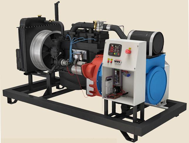 Современный газовый генератор