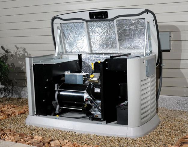 Газовый генератор для дом