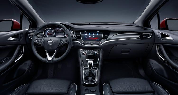 Салон Opel Astra K