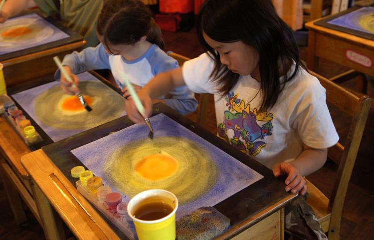 Дети проходят обучения