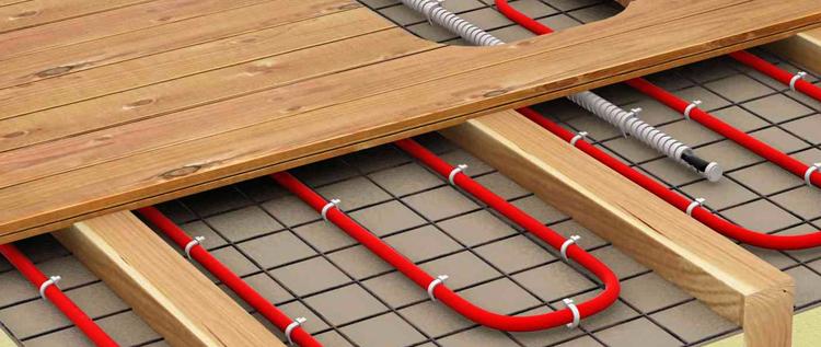 Теплый пол с кабелем