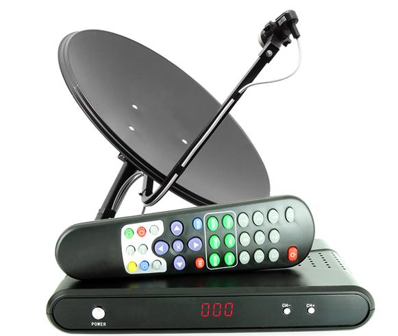 Работа спутникового ТВ