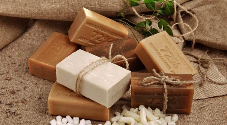 Новое хозяйственное мыло