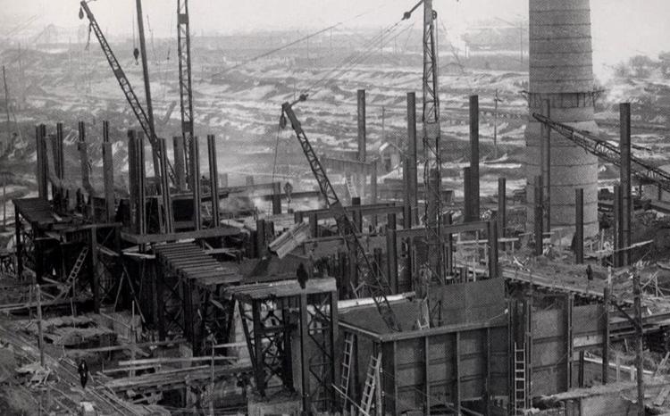 Во время индустриализации
