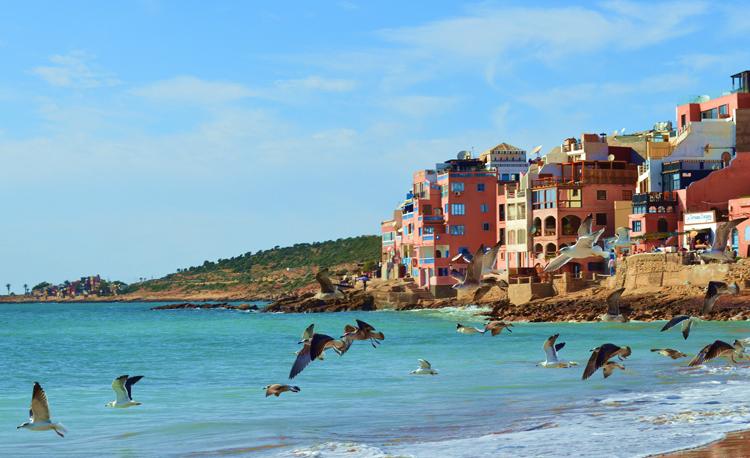 Пляж в Марокко