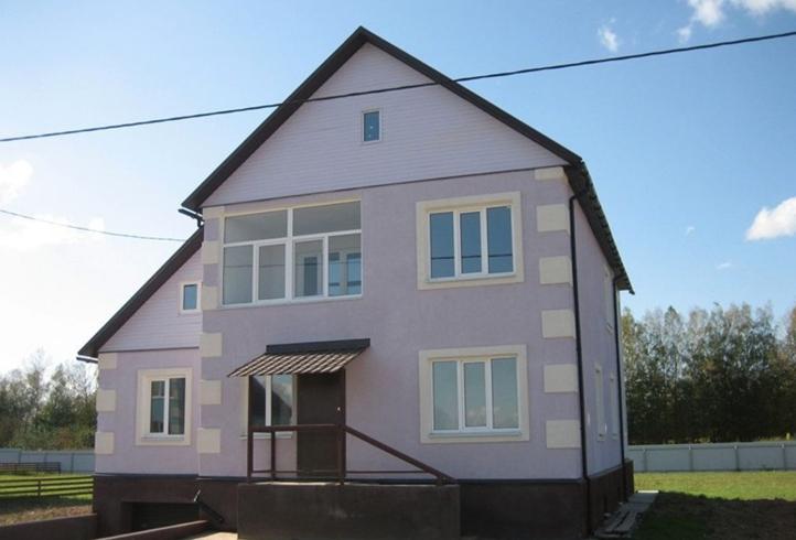 Современный монолитный дом