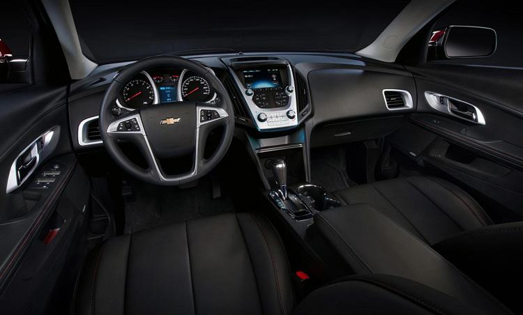 Салон Chevrolet niva 2016