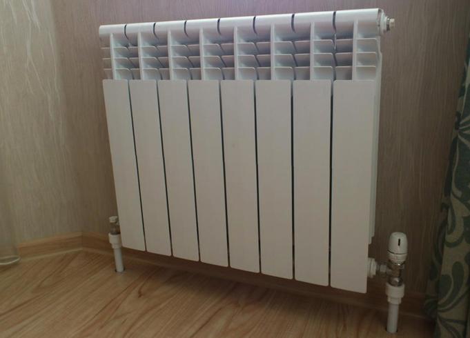 Новый биметаллический радиатор