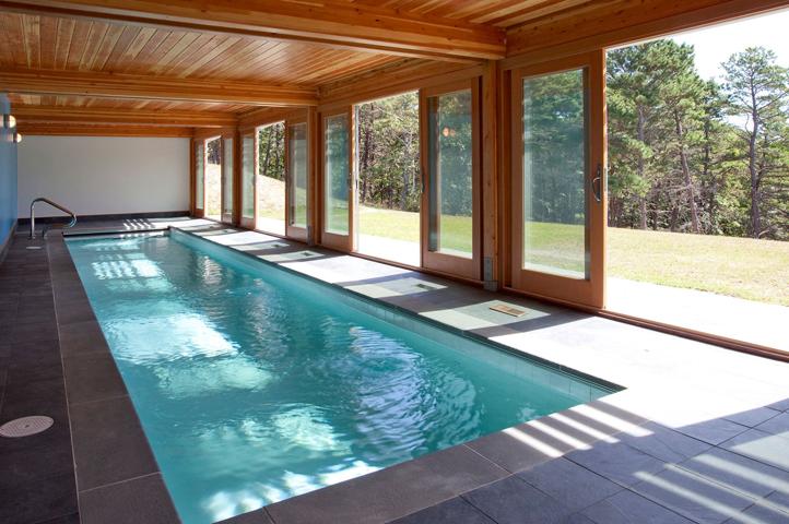 Новый бассейн в доме