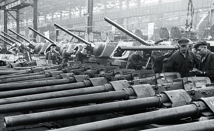 Производство танков