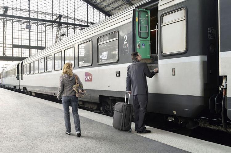 Путешественник на поезде