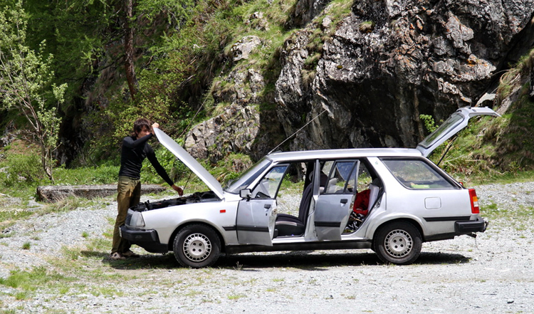 Поломка авто в пути