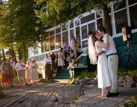 Свадьба в коттедже