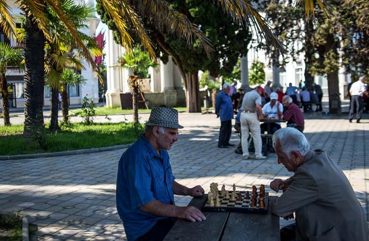 Люди Абхазии