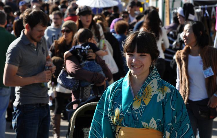 Люди в Японии ходят