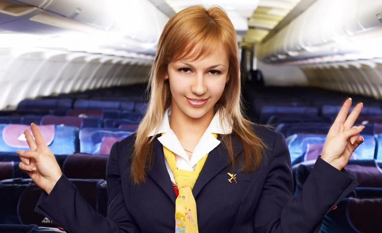 Позитивная стюардесса