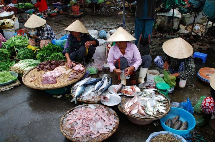 Продавцы во Вьетнаме