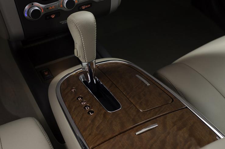 Внутри авто