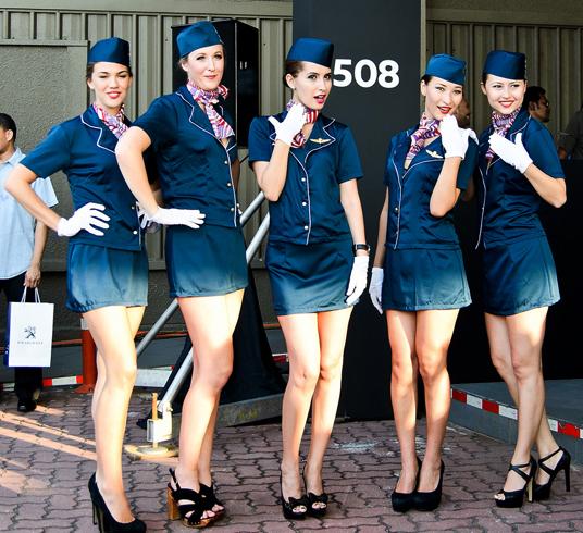Современные стюардессы