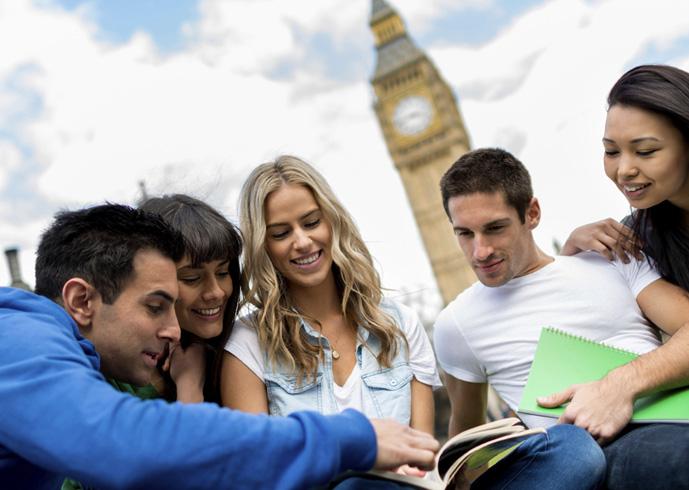 Студенты в Англии