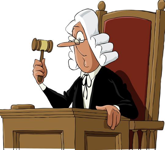 Судья в очках