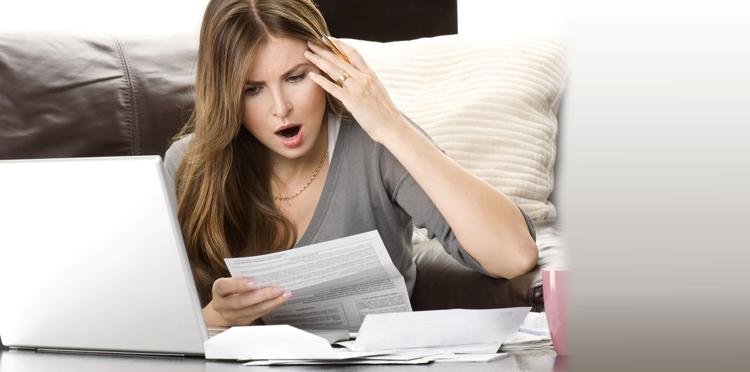 Женщина-банкрот