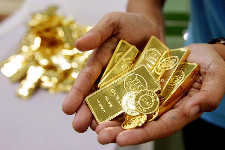 Золото в руках