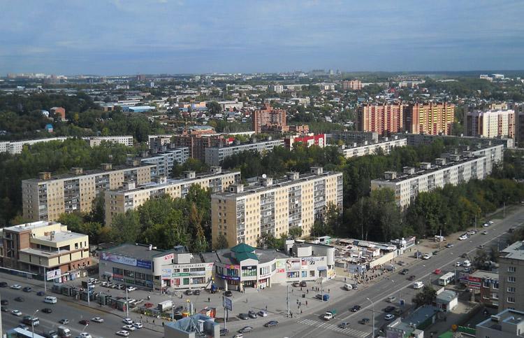 Дома Новосибирска
