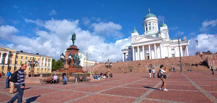 Площадь в Хельсинки