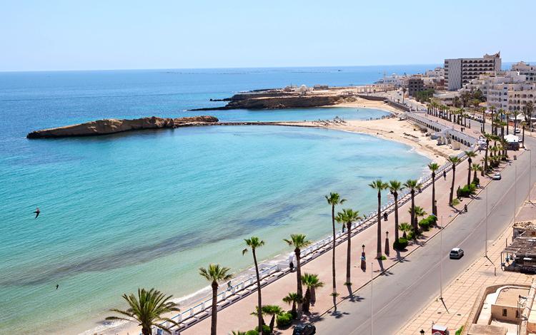 Береговая линия Туниса