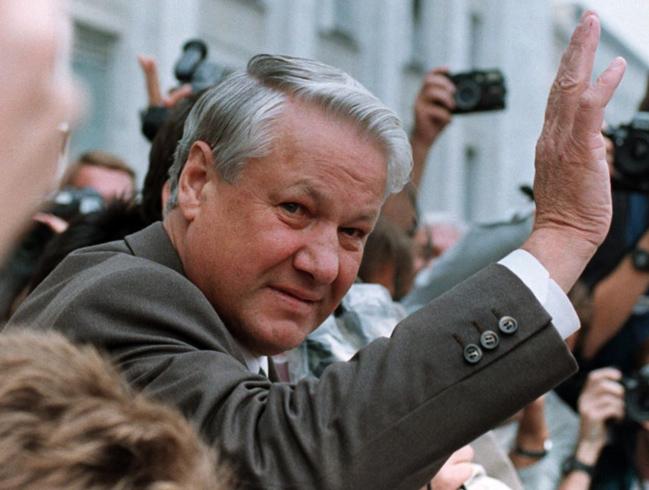 Молодой Ельцин