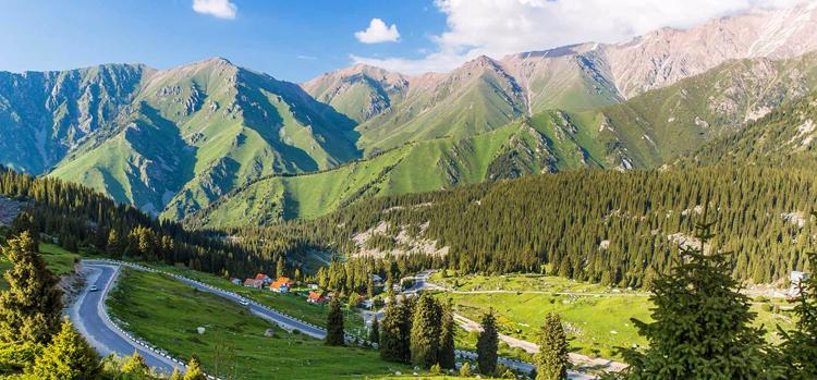 Красотка Казахстана