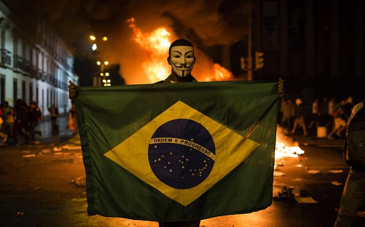 Погром в Бразилии