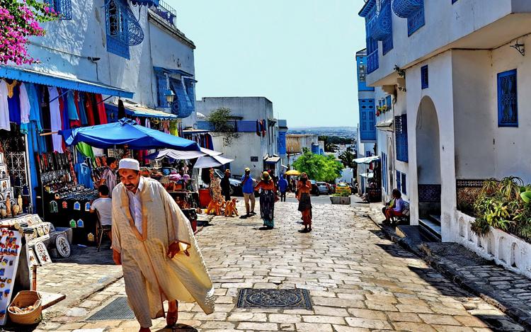 По улицам Туниса