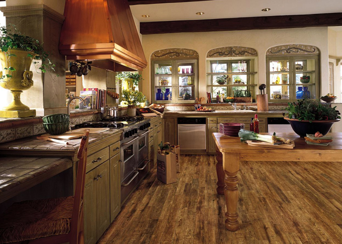 Покрытие на кухне