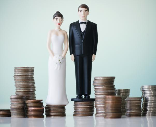 Брак мужчины и женщины