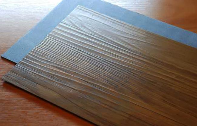 Вид кварцвиниловой плитки