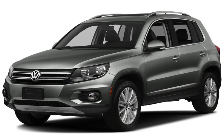 Красивый Volkswagen Tiguan