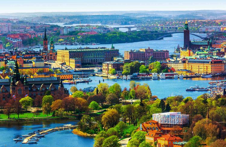 Город в Швеции