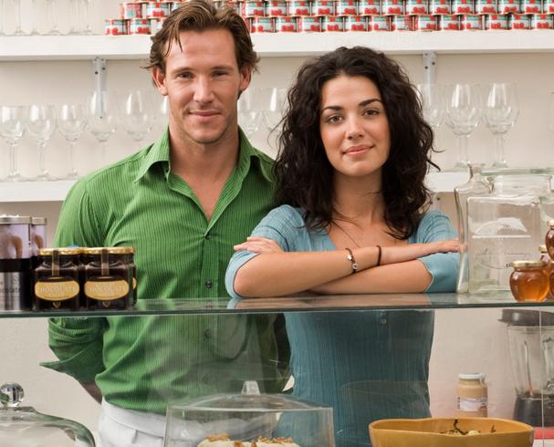 Муж и жена бизнесмены
