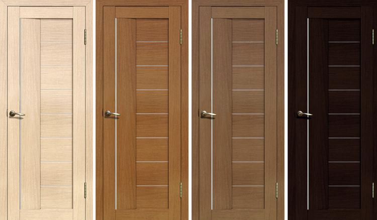 Новые двери из экошпона