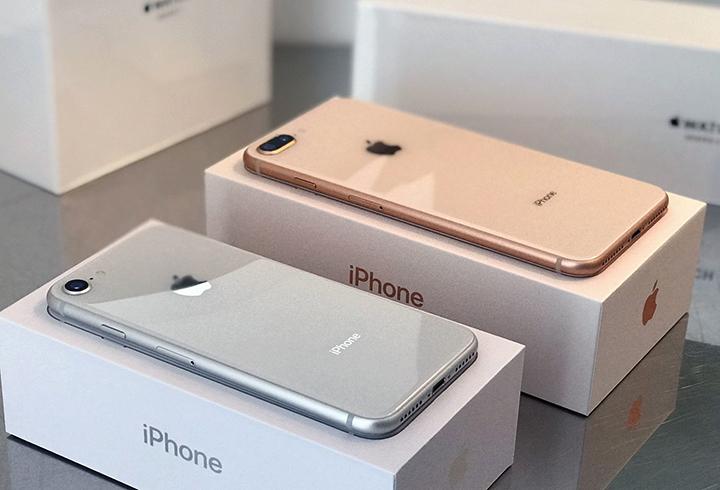 iPhone 8 в коробочке