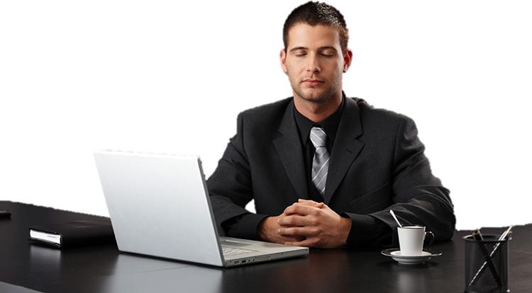 Менеджер на работе