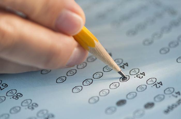 Тест на бумаге